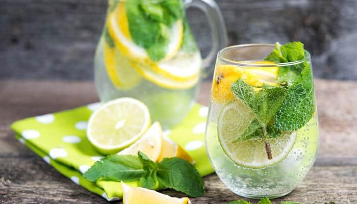 agua-aromatizada-limao-hortela