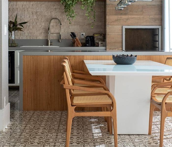 imóveis com churrasqueira e espaço gourmet rustico